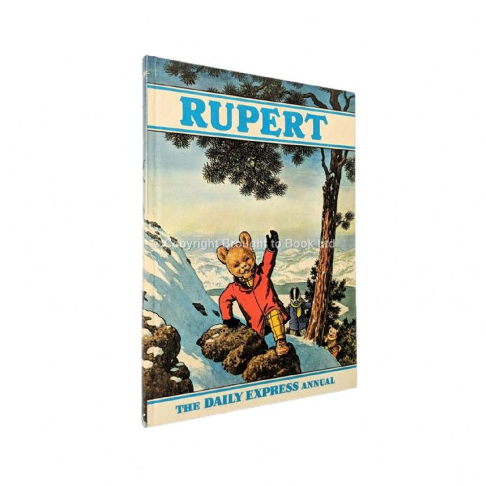The Rupert Annual 1970 Signed by Alfred Bestall The Daily Express 1970